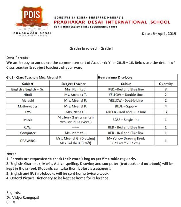 Welcome to Prabhakar Desai International School ::
